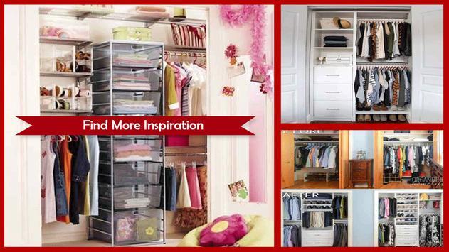 Small Closet Organization Ideas apk screenshot