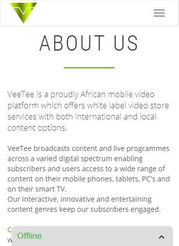 VeeTee screenshot 2