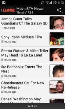 Movie & TV News apk screenshot
