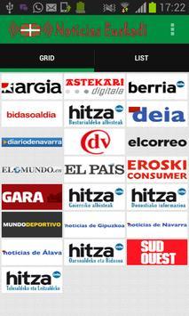 Noticias Euskadi poster