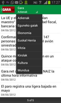 Noticias Euskadi apk screenshot
