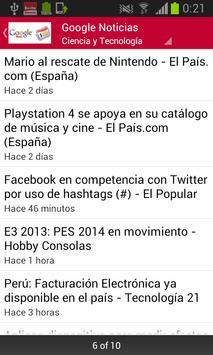 Noticias Perú screenshot 1