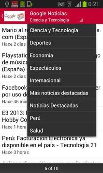 Noticias Perú screenshot 2
