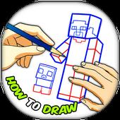 How To Draw Minecraft 2017 icon