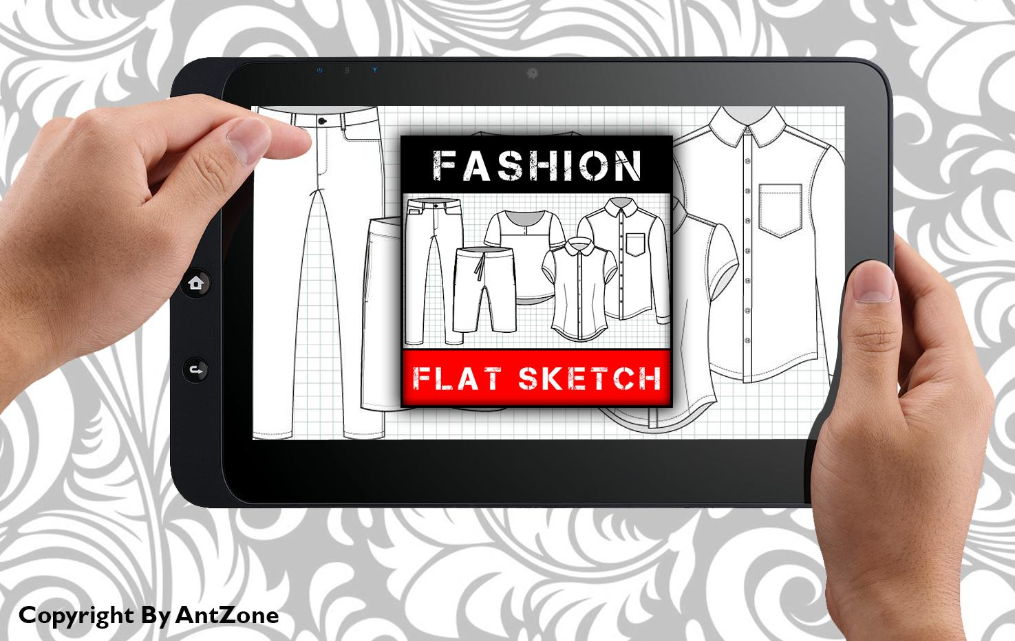 Fashion Design Flat Sketch New For Android Apk Download