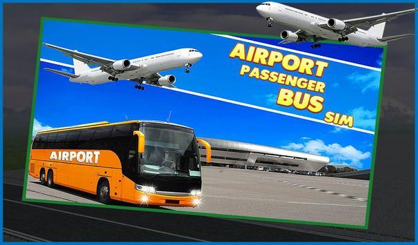 Airport Passenger Bus Sim 2018 poster