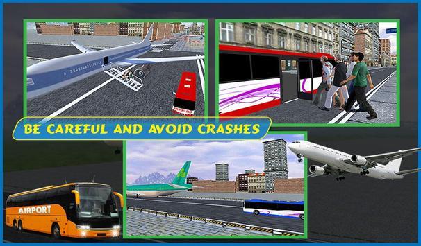 Airport Passenger Bus Sim 2018 screenshot 19