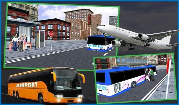 Airport Passenger Bus Sim 2018 screenshot 12
