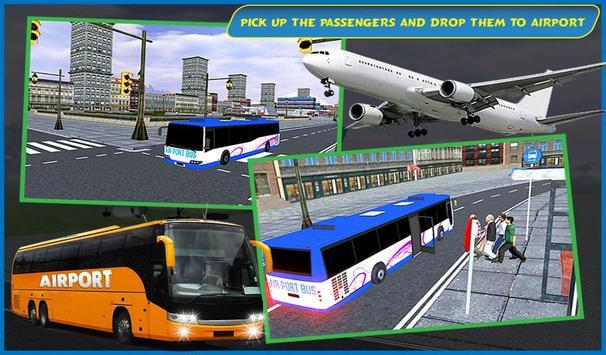 Airport Passenger Bus Sim 2018 screenshot 1