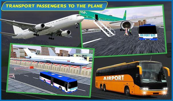 Airport Passenger Bus Sim 2018 screenshot 8