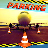 Parking Airplane Sim 3D 2017 icon