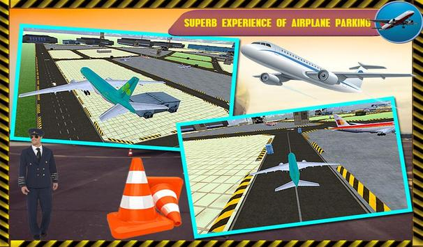 Parking Airplane Sim 3D 2017 screenshot 1