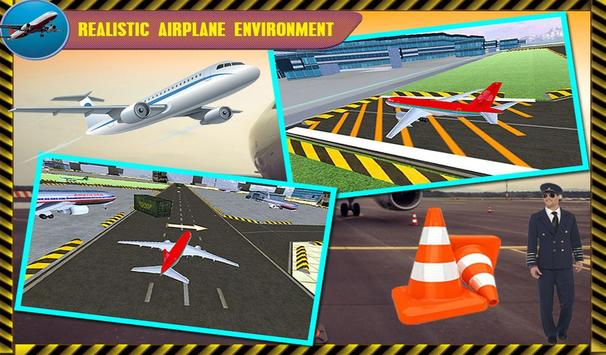 Parking Airplane Sim 3D 2017 screenshot 2