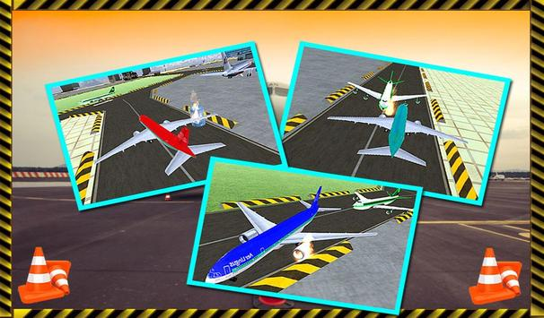 Parking Airplane Sim 3D 2017 screenshot 3