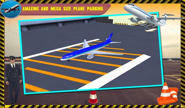 Parking Airplane Sim 3D 2017 screenshot 4