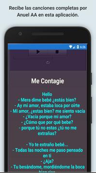 Anuel AA Música Letra apk screenshot