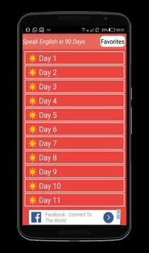 Speak English in 90 Days screenshot 1