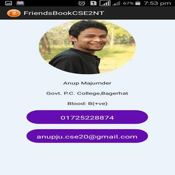 FriendsBookCSE2NT screenshot 3