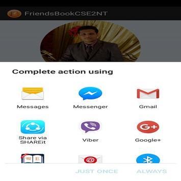 FriendsBookCSE2NT screenshot 5