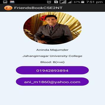FriendsBookCSE2NT screenshot 6