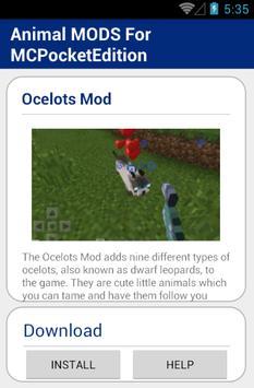 Animal MOD For MCPocketEdition screenshot 3