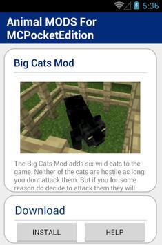 Animal MOD For MCPocketEdition screenshot 4