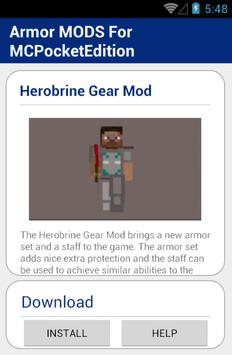 Armor MODS For MCPocketEdition screenshot 4