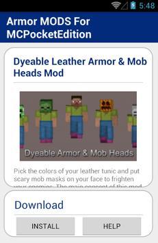 Armor MODS For MCPocketEdition screenshot 5