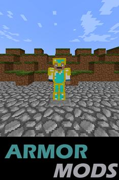 Armor MODS For MCPocketEdition poster