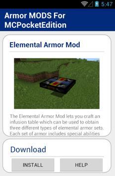 Armor MODS For MCPocketEdition screenshot 3