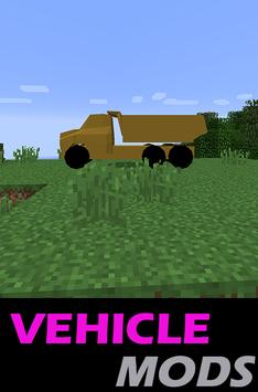 15 Schermata Vehicle MODS For MCPocketE
