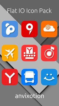 Flat IO Icon Pack ảnh chụp màn hình 1