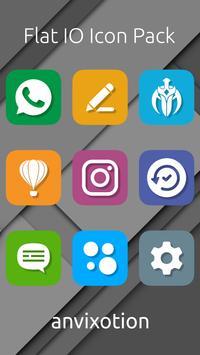 Flat IO Icon Pack ảnh chụp màn hình 2
