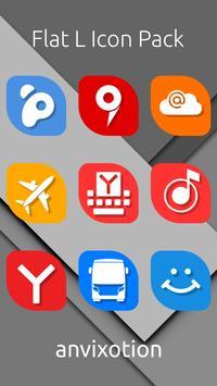 Flat L Icon Pack screenshot 1