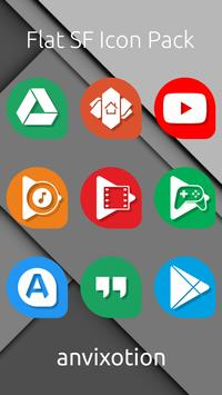 Flat SF Icon Pack poster