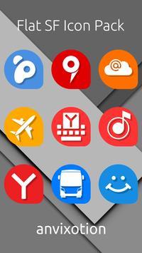 Flat SF Icon Pack screenshot 1