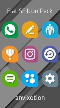 Flat SF Icon Pack screenshot 2
