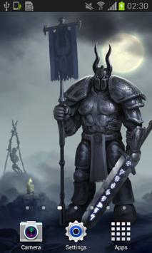 Knight Dark Fantasy Live Wallpaper Art Best HD LWP poster