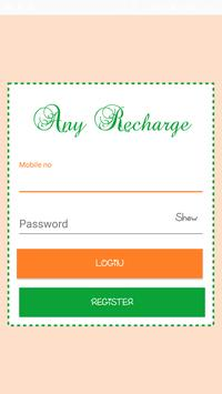 Any Recharge poster