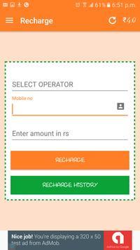 Any Recharge apk screenshot
