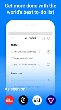 Any.do: To-do list, Calendar, Reminders & Planner poster