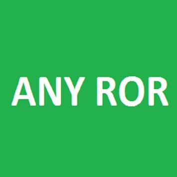 ANY ROR poster