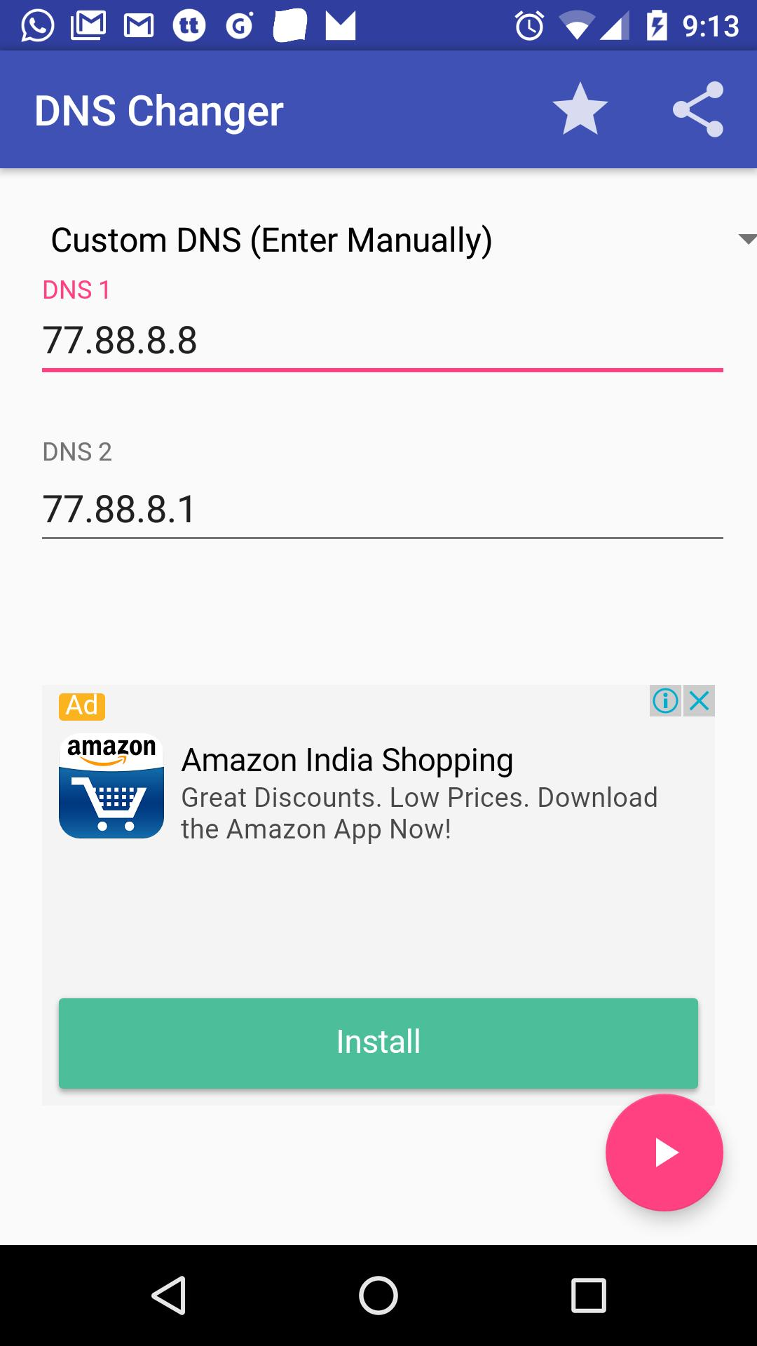 DNS Changer No Root 3g 4g wifi for Android - APK Download