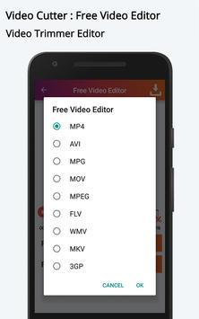 Video Cutter : Free Video Editor apk screenshot