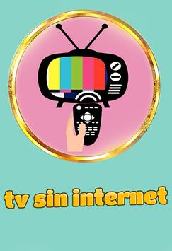 tv sin internet poster
