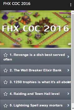 FHX COC 2016 apk screenshot