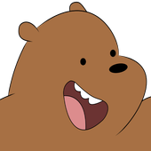 Grizz The Bear in Super Runner Bare Bear Adventure icon