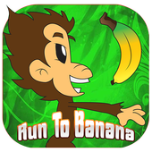 Run to Banana icon