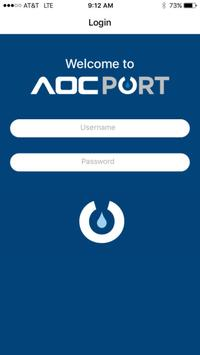 AOCPort poster