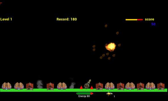 E.T Alien Invasion Meteors poster
